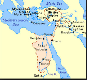 Middle Kingdom Egypt Map.Middle And New Kingdom